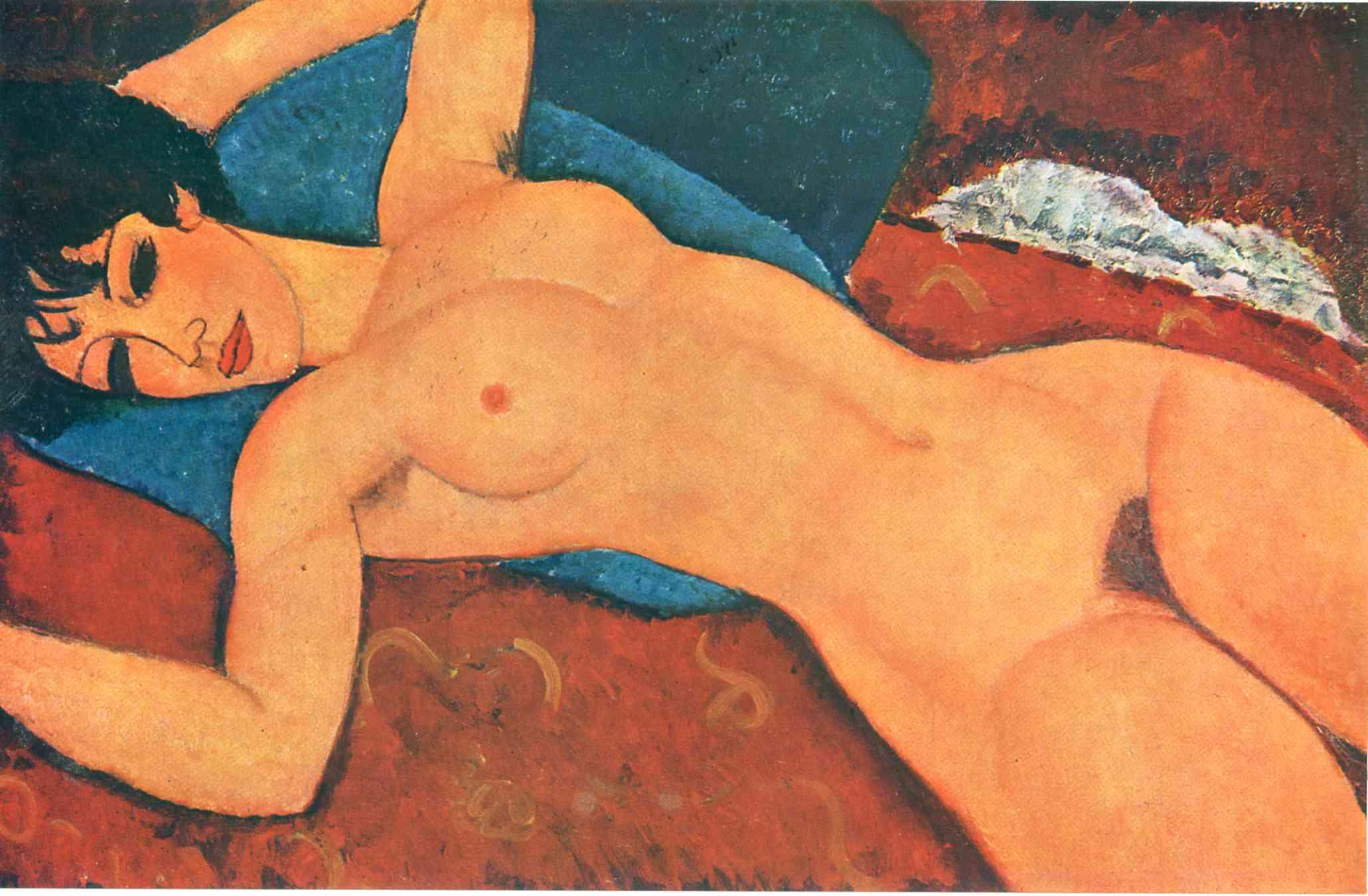 Самые дорогие картины мира - Амедео Модильяни «Лежащая обнаженная»