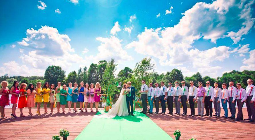 идеи для свадьбы - Colorful