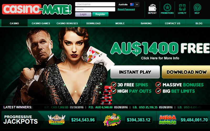 лучшие интернет казино - Casino-Mate