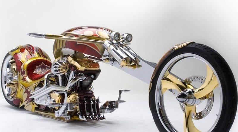 Yamaha Road Star BMS (Золотойчоппер)