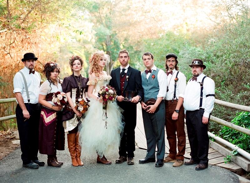 идеи для свадьбы - Steampunk