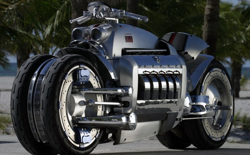 самые дорогие мотоциклы в мире - Dodge Tomahawk V10