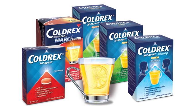 Лучшие средства от простуды - Колдрекс