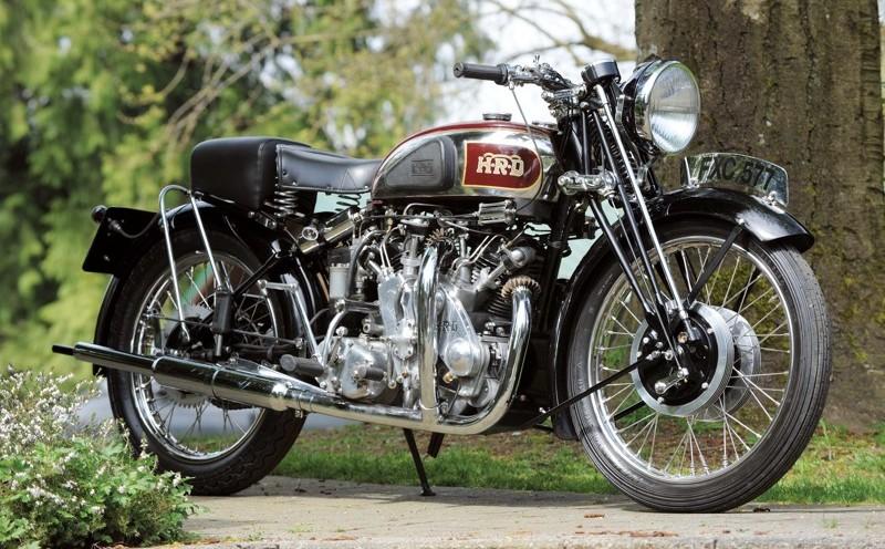 самые дорогие мотоциклы в мире - British Vintage Black