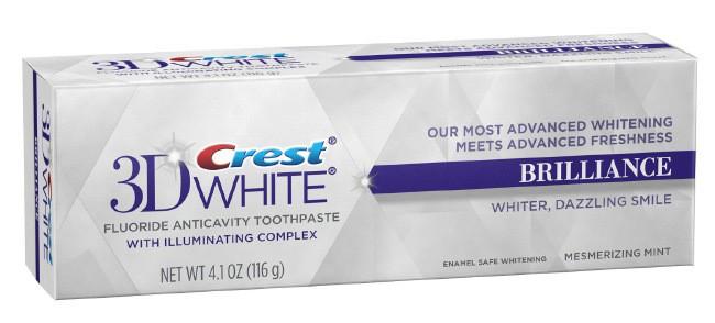 Лучшие зубные пасты - Crest 3d White