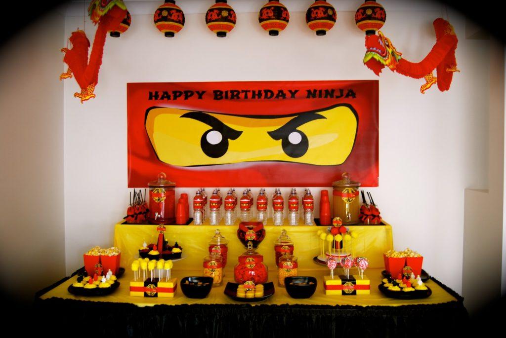 """Идеи для детского дня рождения - День рождения в стиле """"Ниндзяго"""""""