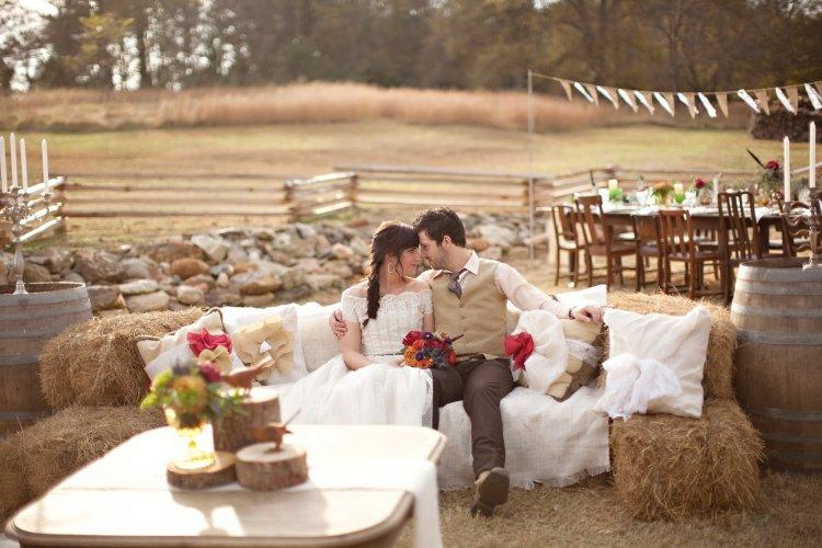 идеи для свадьбы - Rustic