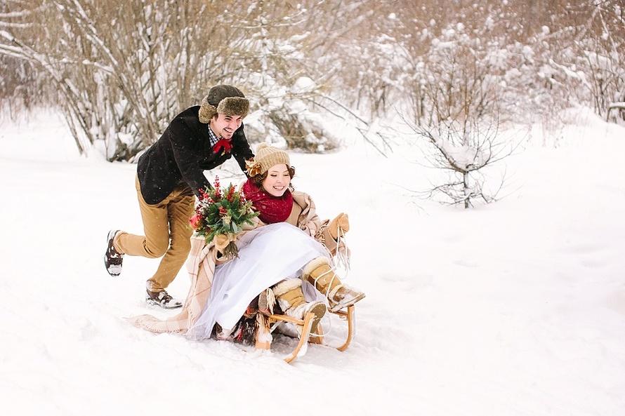 идеи для свадьбы - Winter Wonderland