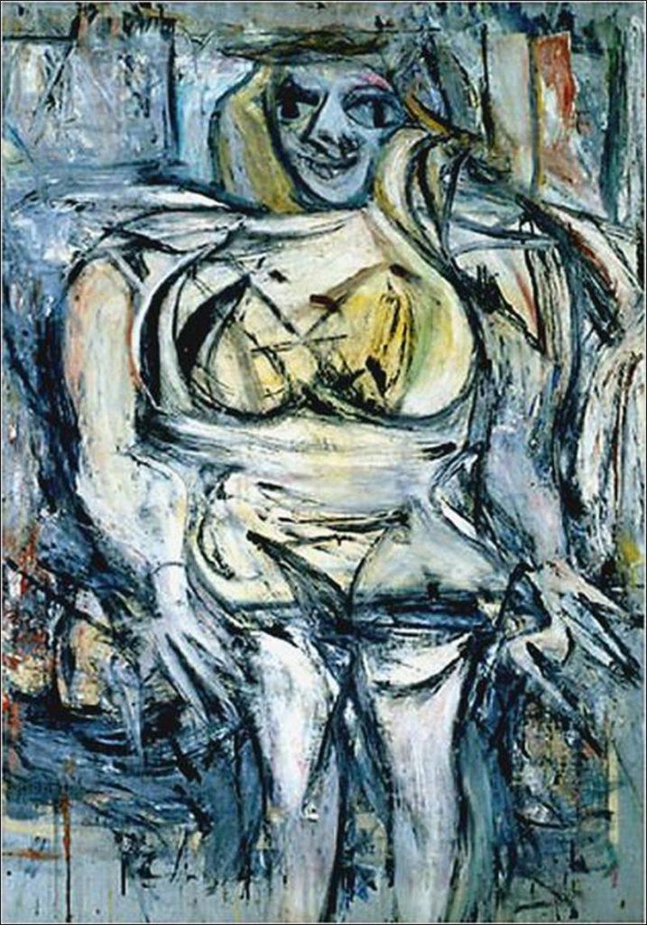 Самые дорогие картины мира - Виллем де Кунинг «Женщина III»