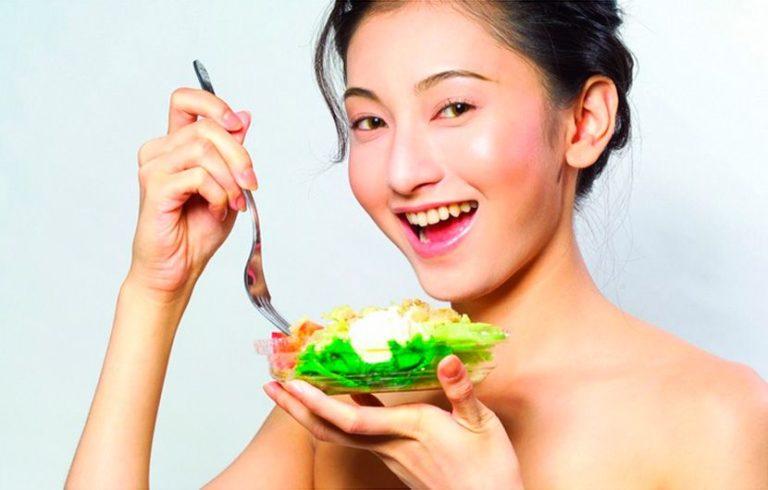 Диета для очищения кожи лица: пример меню, полезные