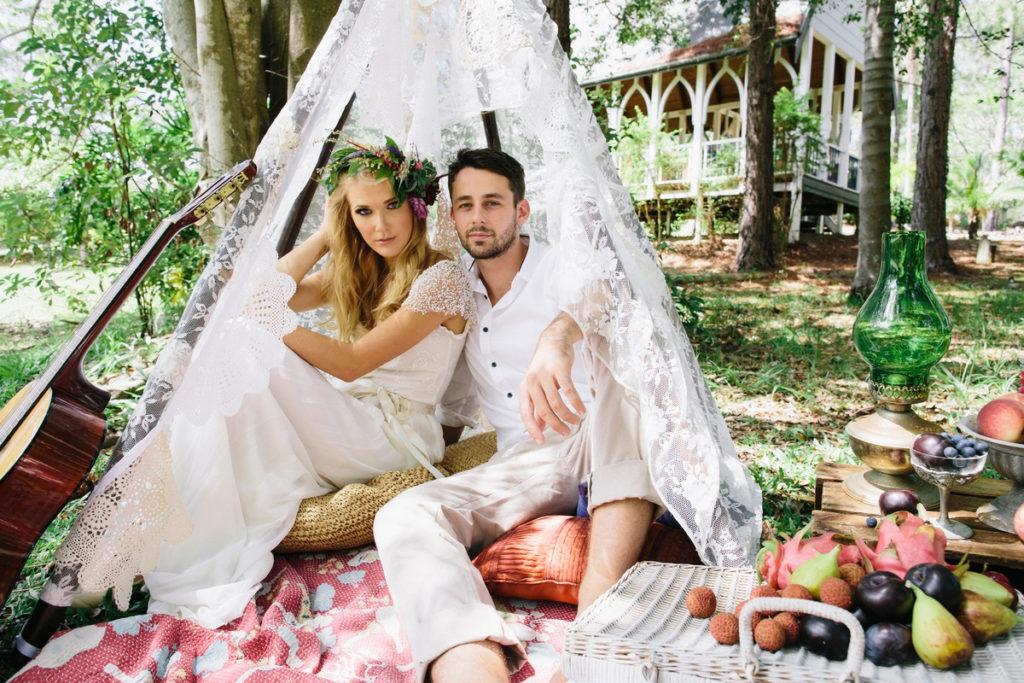 идеи для свадьбы - Boho chic