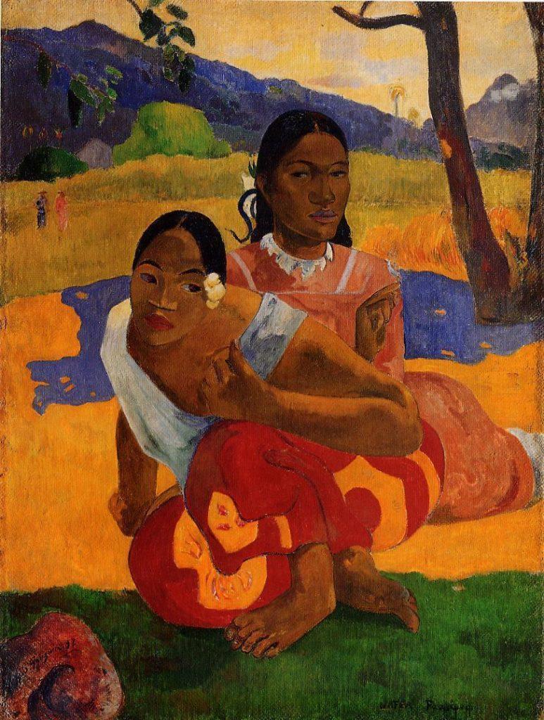 Самые дорогие картины мира - Поль Гоген «Когда ты выйдешь замуж?»