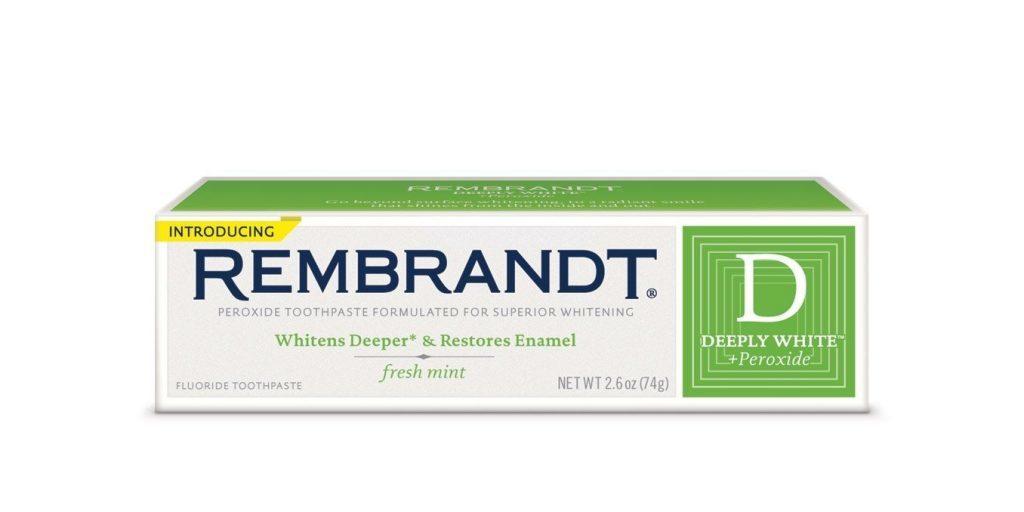 Лучшие зубные пасты - Rembrandt