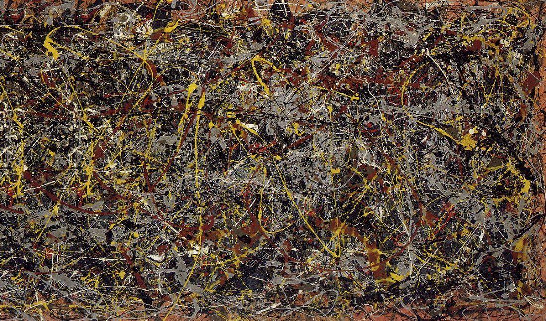Самые дорогие картины мира - Джексон Поллок «Номер 5»