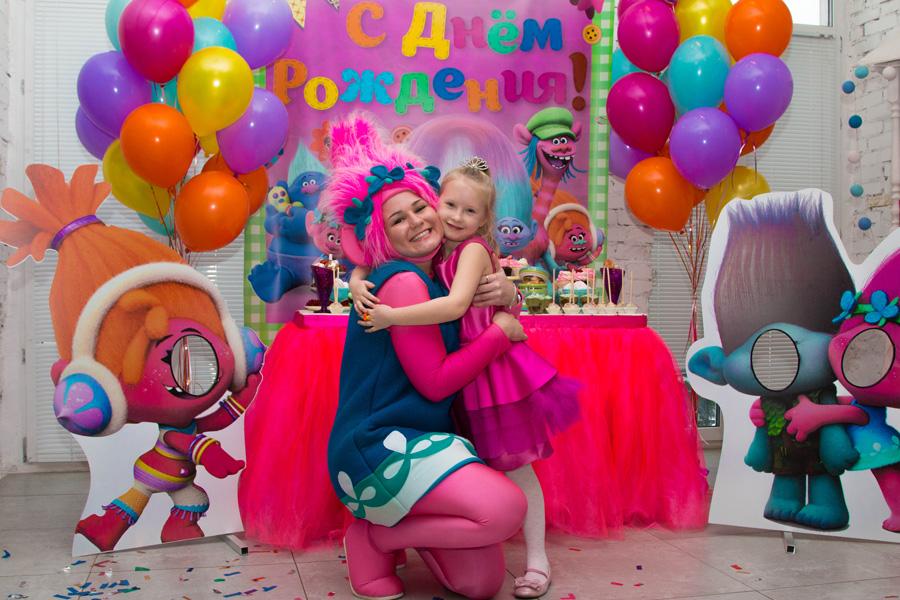 Идеи для детского дня рождения  - День рождения в стиле «Тролли»