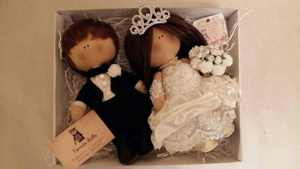Авторские куклы жениха и невесты