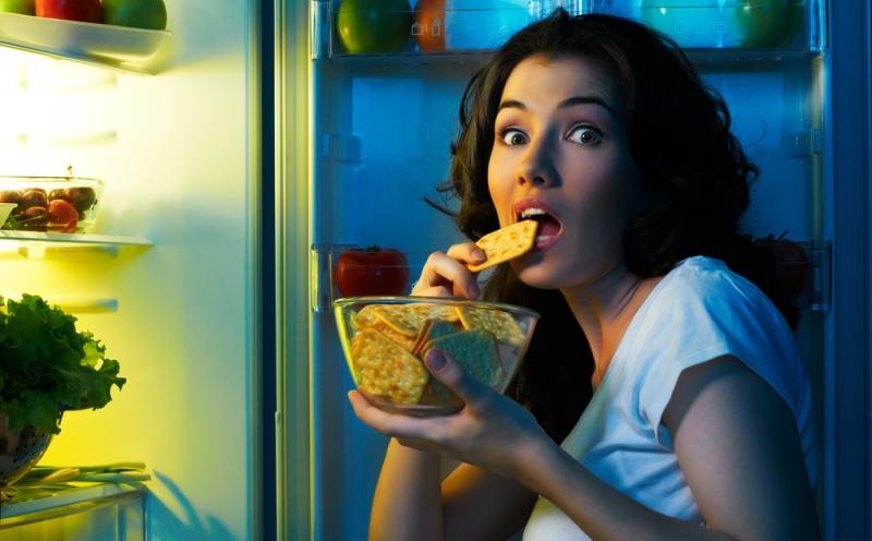 Не ешьте плотно перед сном