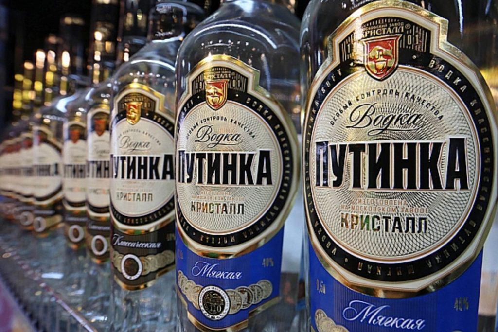 Водка «Путинка» Мягкая
