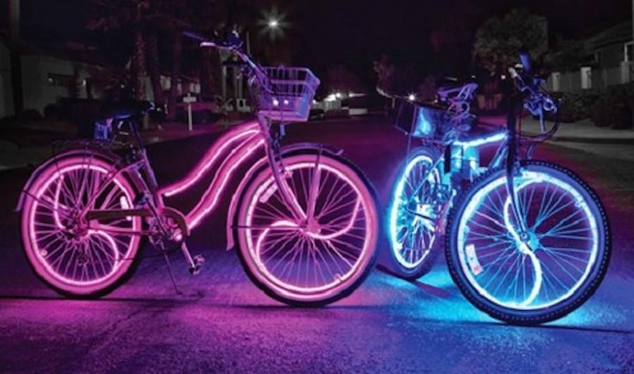 LED-подсветка для велосипеда