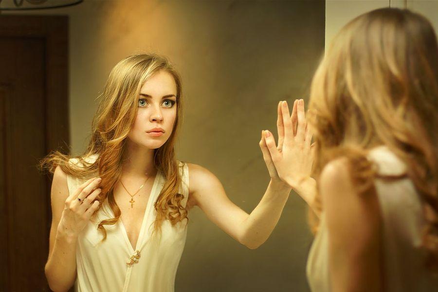 Осмотрите себя в зеркале