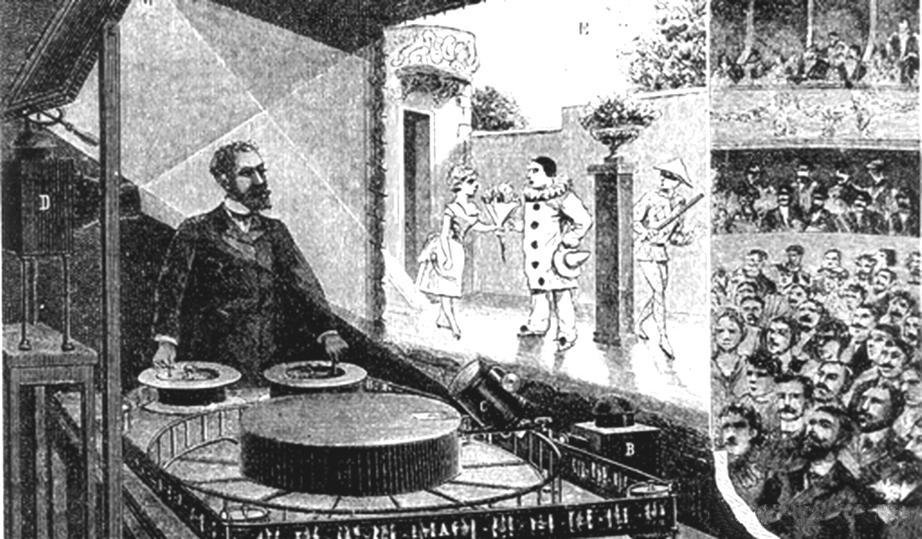 Праксиноскоп Эмиля Рейно