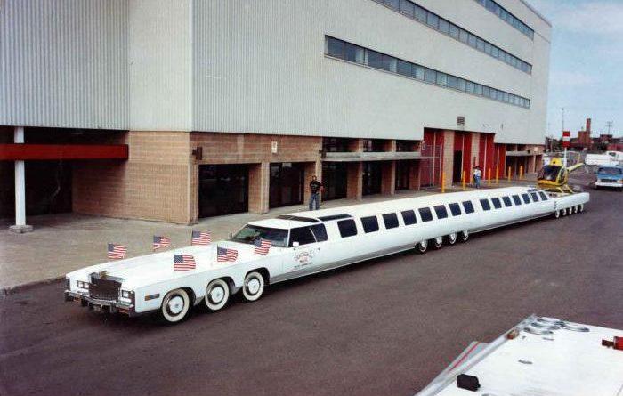 Самые длинные авто в мире