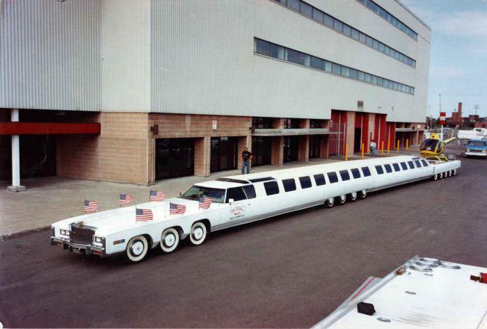 8 самых длинных автомобилей в мире