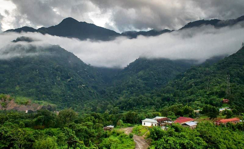 Долина падающих птиц, Индия