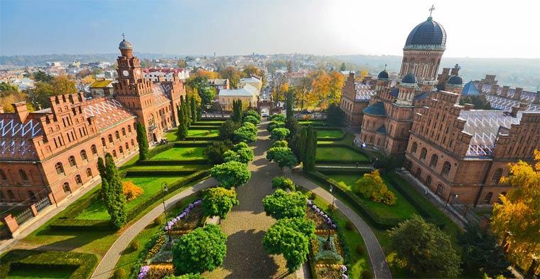 Самые красивые города Украины 2019