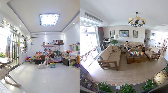 Как снимает камера XiaoFang 360˚