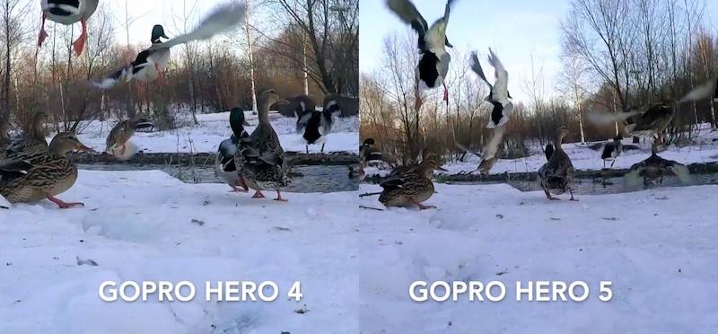 Качество съемки на GoPro