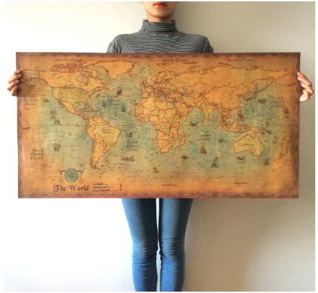 Карта океанов