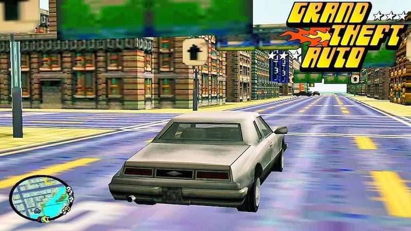 Первая GTA