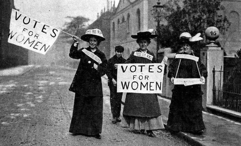 Первые феминистки