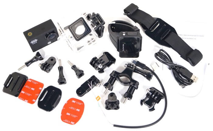 Виды креплений для экшн-камер