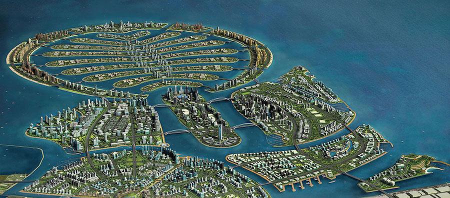 Искусственные острова Дубаи