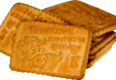 Худшее сахарное печенье «Топленое молоко»: топ 7 марок