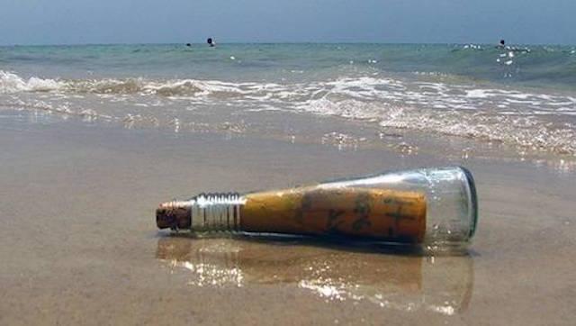 10 удивительных посланий в бутылке
