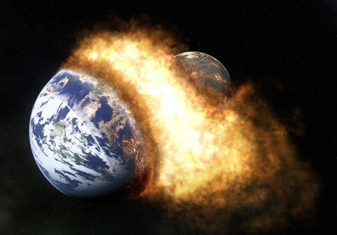 Столкновение с другой планетой