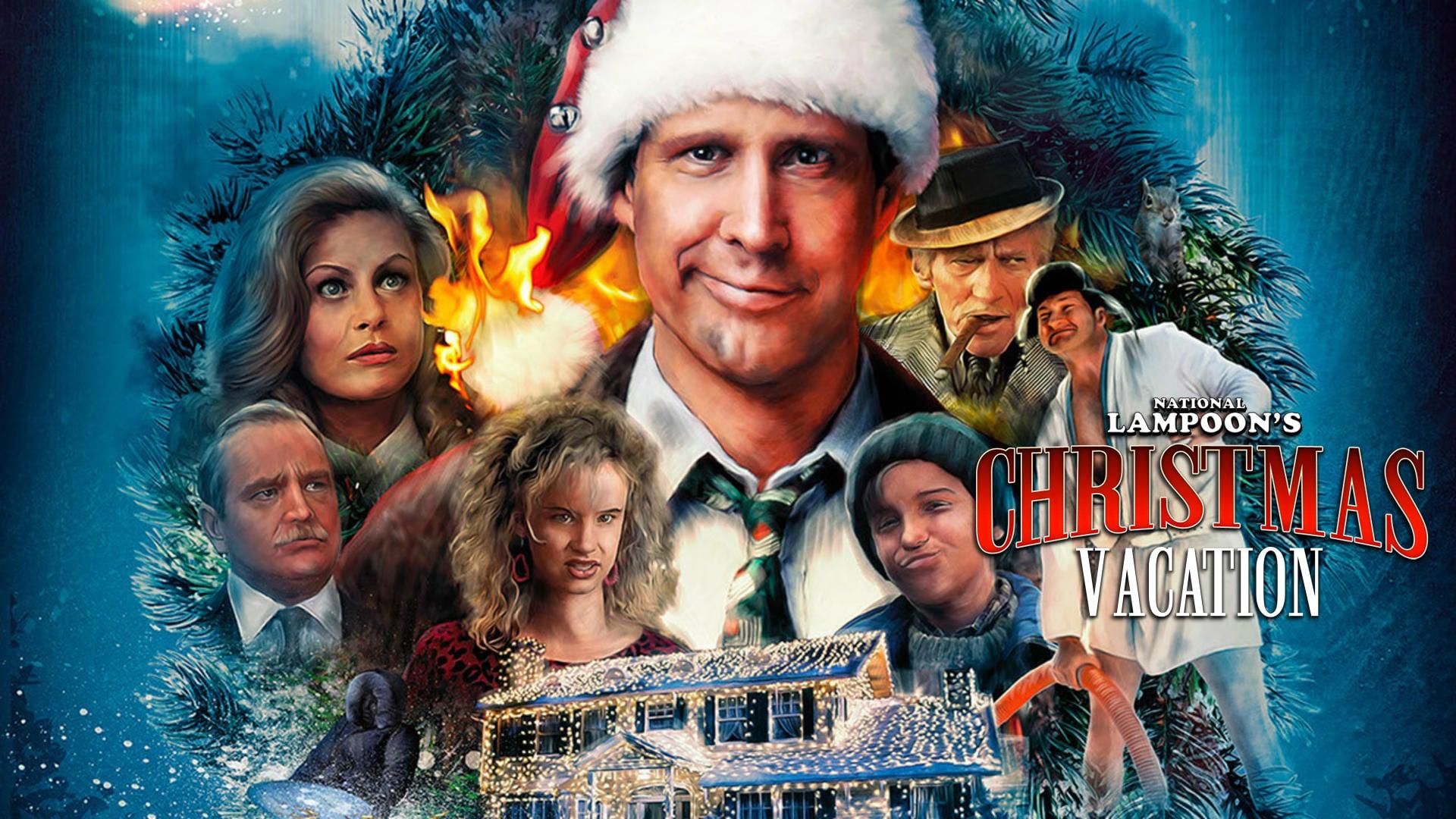 Рождественские каникулы (1989) фильм новогодний