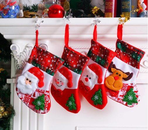 сапоги рождественские