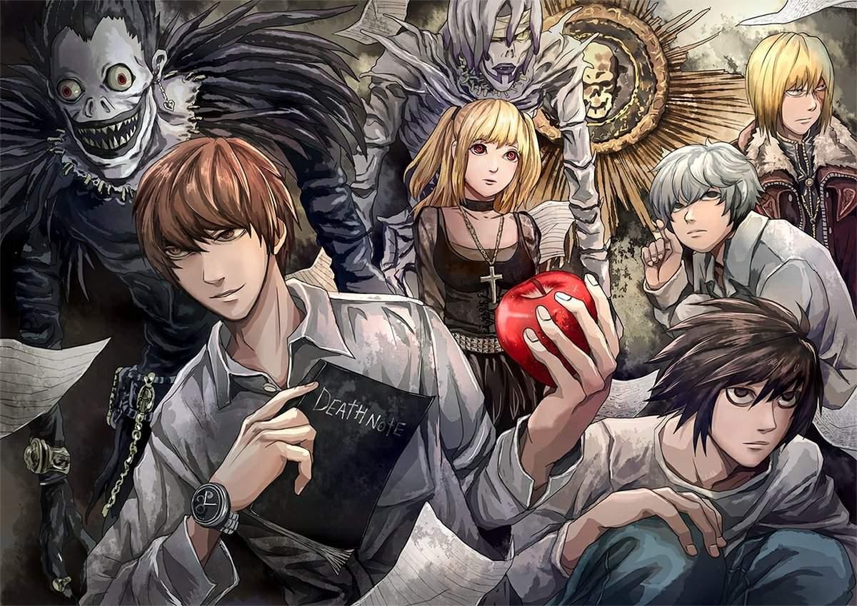 Тетрадь смерти популярный аниме