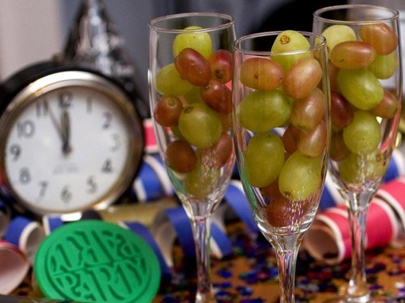 12 сортов винграда в новый год