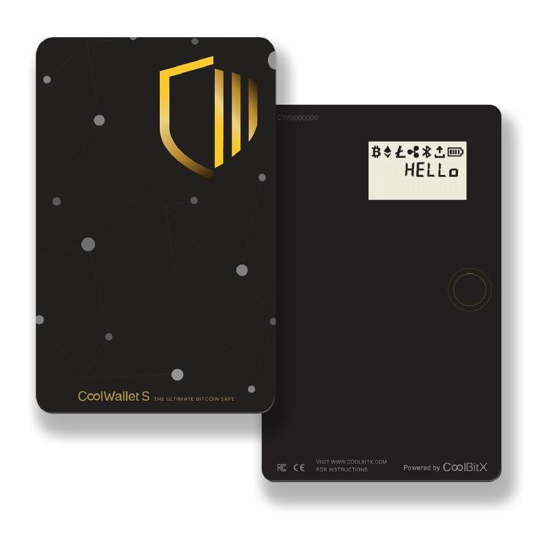 аппаратный кошелек холодного хранения криптовалют CoolWallet S