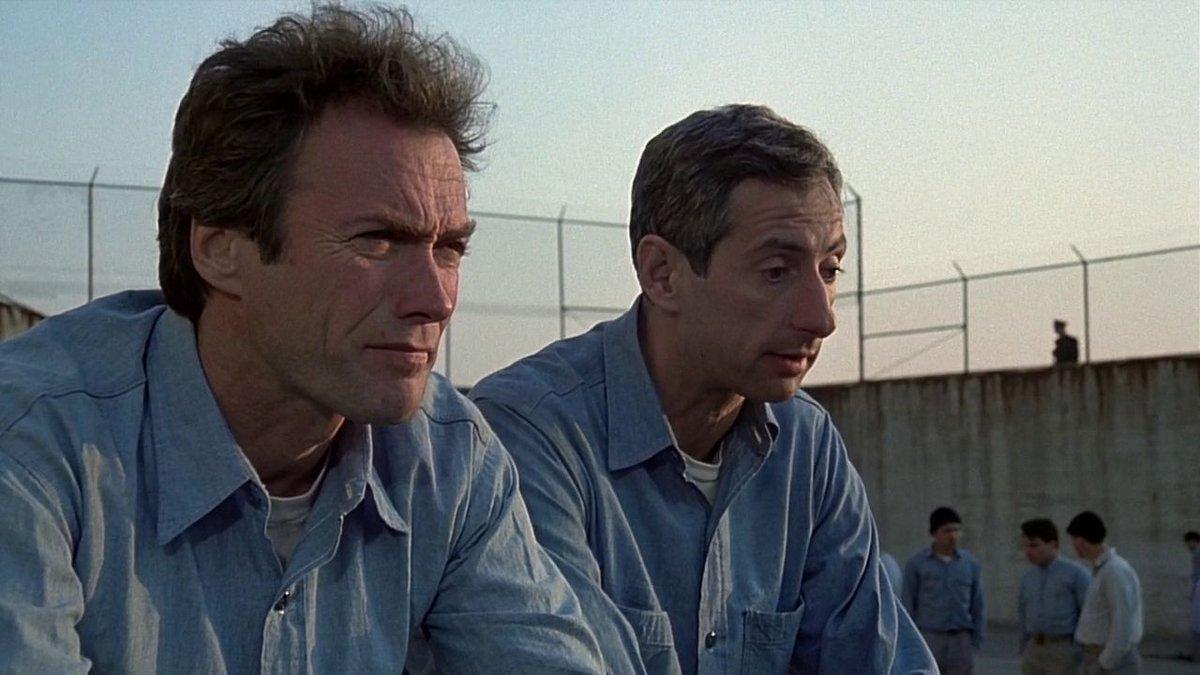 Побег из Алькатраса (1979) Клинт Иствуд